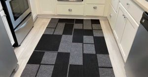 No Sew Dollar Tree Area Rug