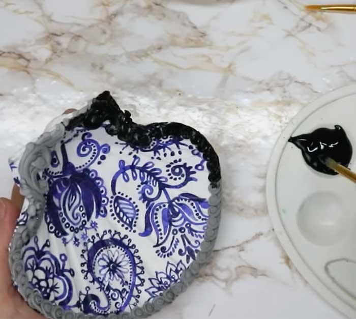 Paint On Seashells - DIY Home Decor