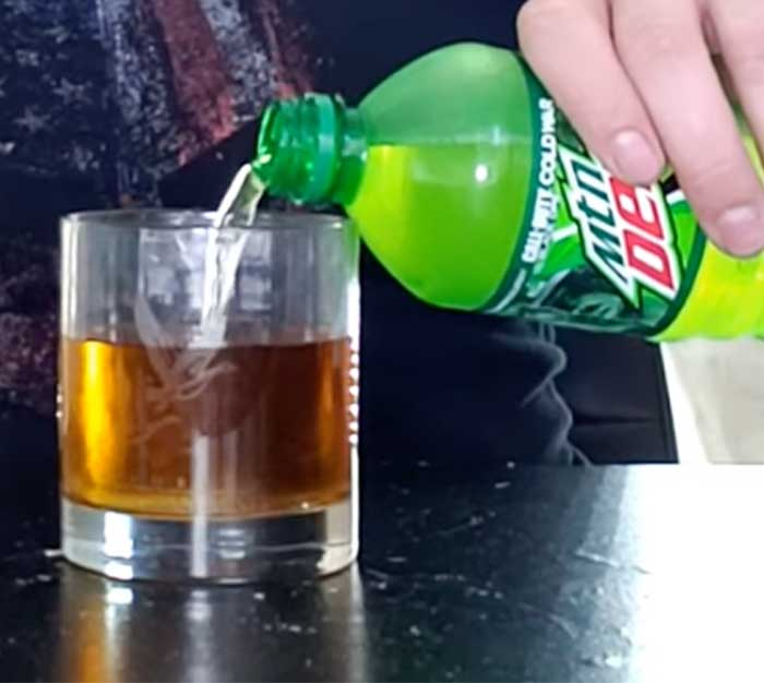 Mountain Dew In Jolly Rancher Cocktail - Easy Cocktail