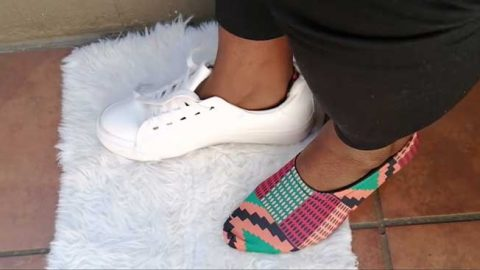 How To Sew Hidden Socks   DIY Joy Projects and Crafts Ideas
