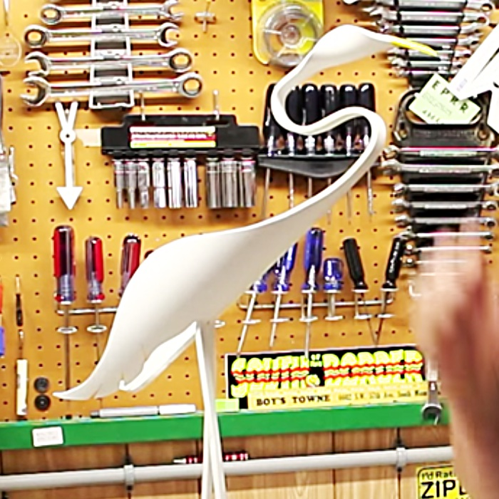 Easy DIY Lawn Decor - DIY Outdoor Decor - How To Make A Bird From PVC