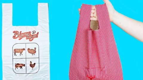 Easy Reusable Shopping Bag Tutorial | DIY Joy Projects and Crafts Ideas