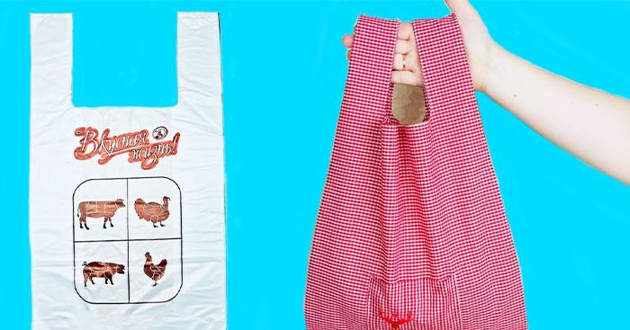Reusable Shopping Bag - Easy Sewing