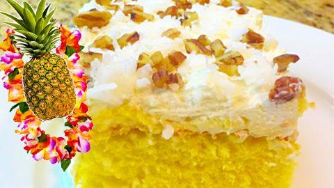 Hawaiian Dream Cake Recipe | DIY Joy Projects and Crafts Ideas