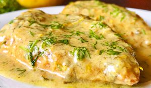 Creamy Lemon Chicken Breasts Recipe