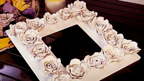 How To Make Egg Carton Roses   DIY Joy Projects and Crafts Ideas