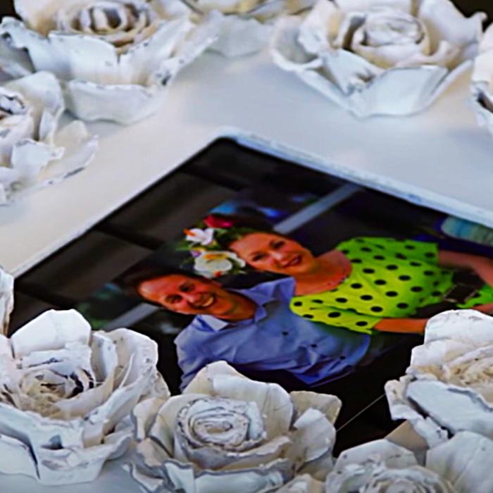 How To Make Egg Carton Roses - DIY Decor Ideas - Cheap Shabby Chic Ideas