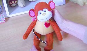 How To Make A Fabric Monkey With Free Pattern