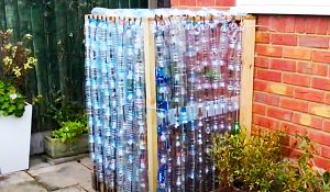 DIY Recycled Plastic Bottle Greenhouse