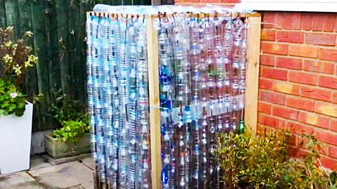 DIY Recycled Plastic Bottle Greenhouse | DIY Joy Projects and Crafts Ideas