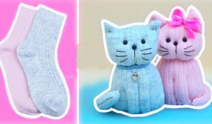 How To Make A Sock Kitty
