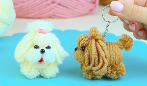 How To Make A Dog From Yarn