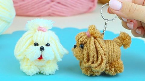 How To Make A Dog From Yarn   DIY Joy Projects and Crafts Ideas