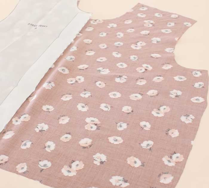 Create The Bodice Of Dress- Sewing Project