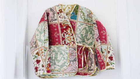 How To Make A Jacket Out Of A Quilt | DIY Joy Projects and Crafts Ideas