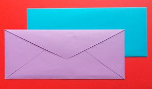 How To Make An Envelope From A Piece Of Paper