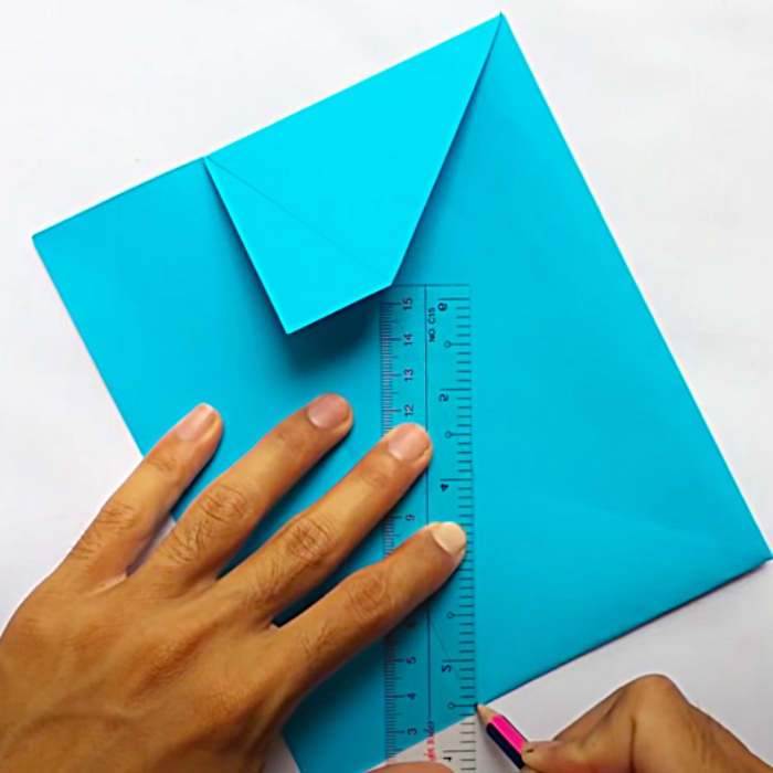 How To make An Envelope From A Piece Of Paper - Easy Origami Envelope - DIY Envelope
