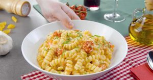 Tik-Tok Trending Cheesy Baked Pasta Recipe