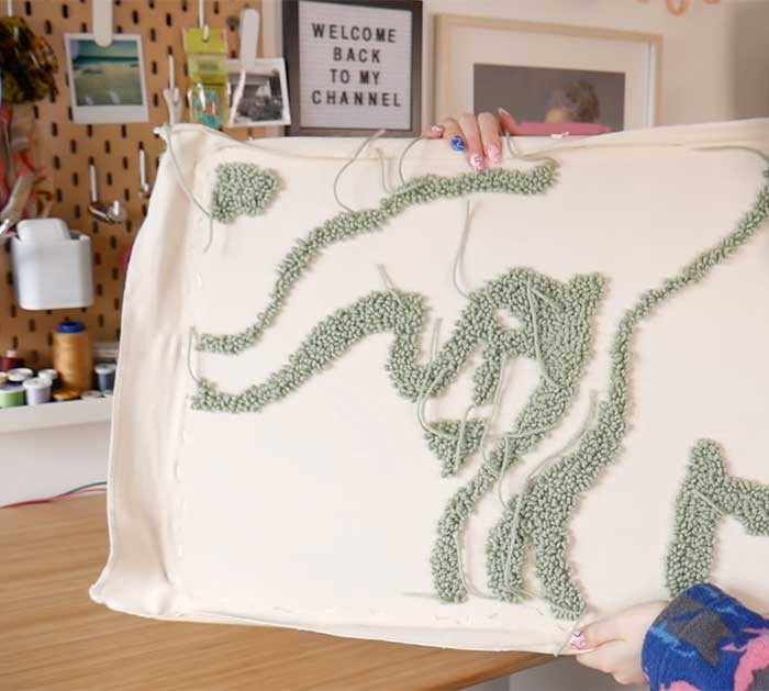 Use Punch Needle To Make Rug - Rug Tutorial