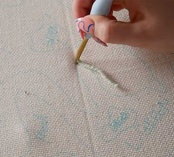 Use Punch Needle To Make Rug - Punch Needle Project