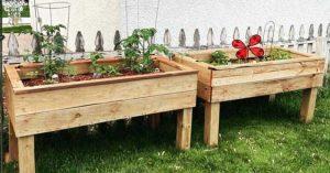 DIY Self Watering Raised Planter Bed