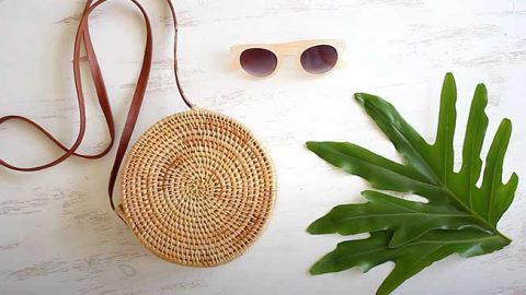 Woven Basket Bag DIY   DIY Joy Projects and Crafts Ideas