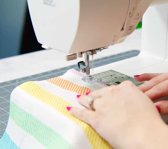 Sew Fabric Of DIY Envelope Pillow - Sewing Project