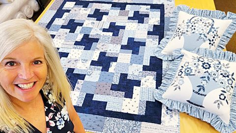 Beginner Quilt With Donna Jordan   DIY Joy Projects and Crafts Ideas