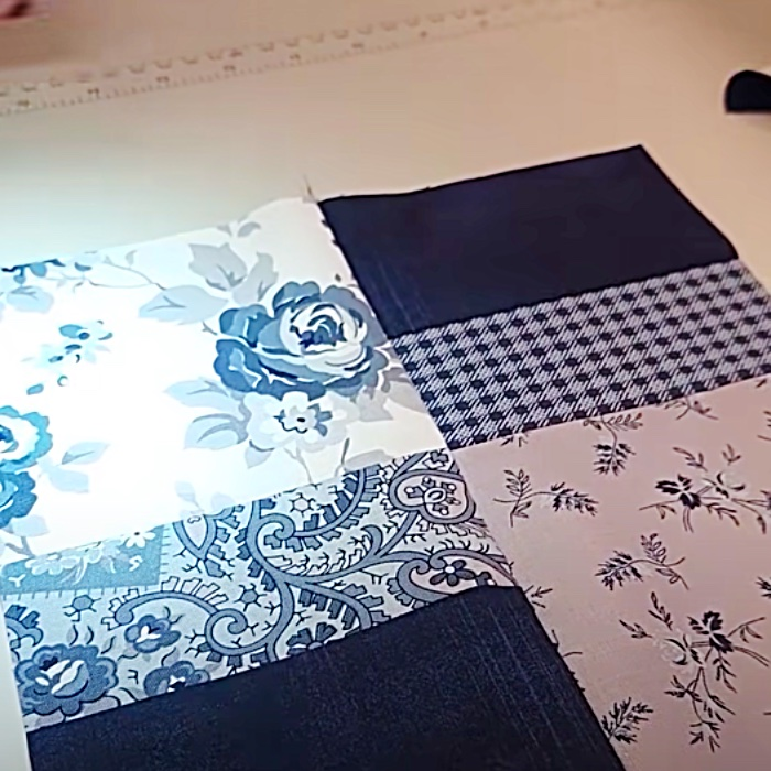 Layer Cake Quilt Blocks - How To Make A First Quilt - Easy Quilt Ideas
