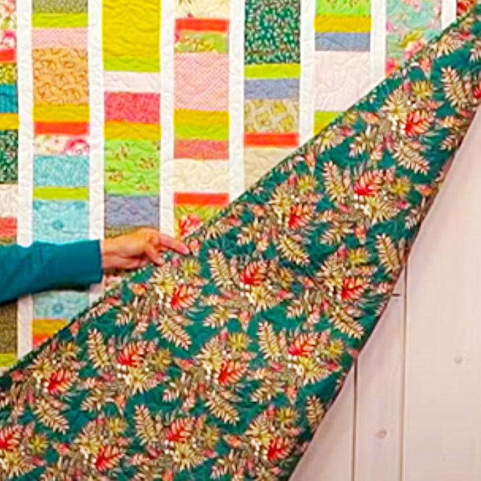 Easy Sewing Pattern - How To Make A Boardwalk Quilt - Scrappy Quilting Ideas