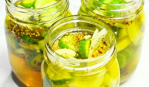Bread and Butter Refrigerator Pickles Recipe