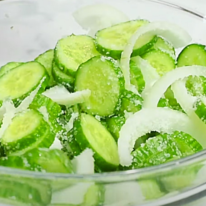 Bread And Butter Refrigerator Pickles - Easy Pickle Recipe - No Water Bath Canning - How To Jar Sweet Pickles - Sweet And Spicy Pickles