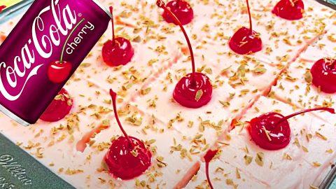 Cherry Coke Poke Cake Recipe   DIY Joy Projects and Crafts Ideas
