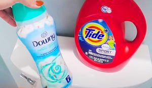 Clean A Toilet Tank With Detergent And Fabric Softener
