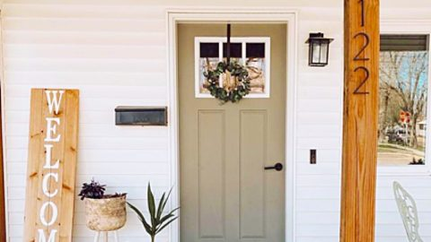 How To Reinforce And Burglar-Proof The Entry Door | DIY Joy Projects and Crafts Ideas