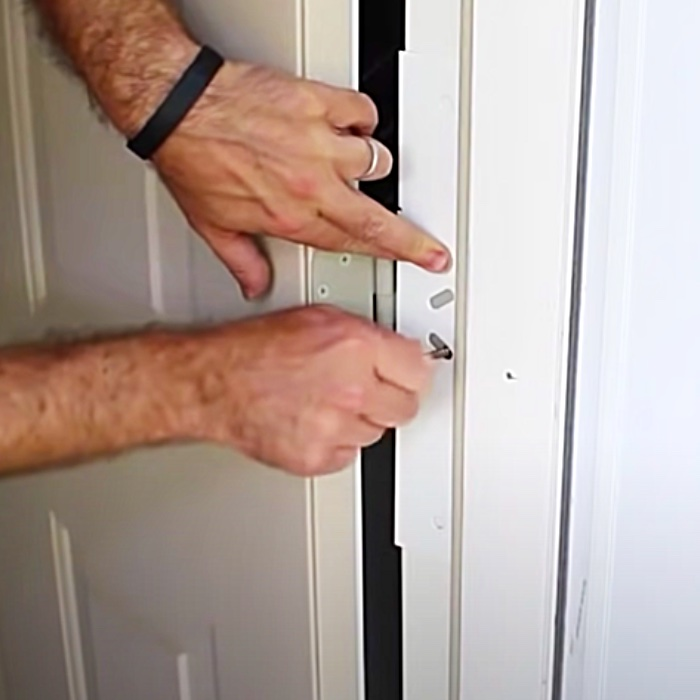 How To Reinforce A Front Door - Burglar Proof A Door - Home Security Ideas