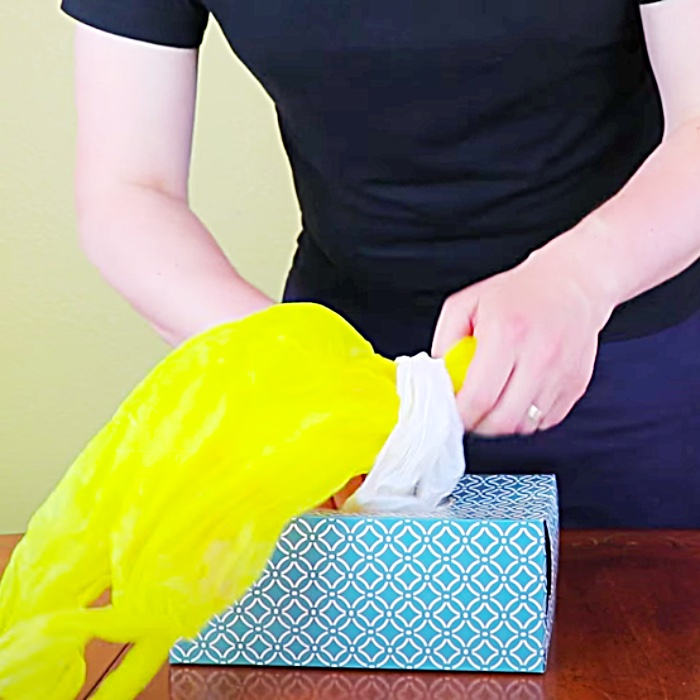 How To Make A Plastic Bag Holder - Easy Way To Organize Grocery Bags - Cabinet Organization Ideas