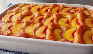 Baltimore Peach Cake Recipe