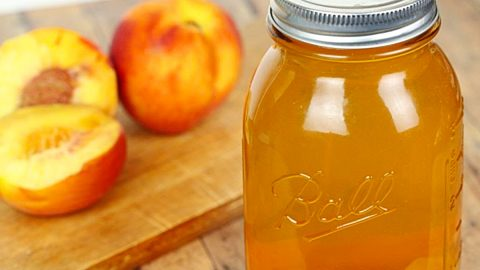 Peach Moonshine Recipe   DIY Joy Projects and Crafts Ideas