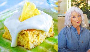 Paula Deen's Speedy Pineapple Cake Recipe