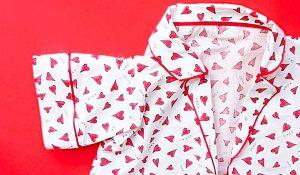How To Sew A One-Yard Pyjama Set