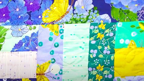 How To Make A Self-Binding Quilt | DIY Joy Projects and Crafts Ideas
