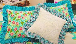 How To Make A Ruffled Pillow Sham
