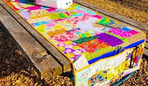 How To Sew A Scrappy Sewing Machine Mat