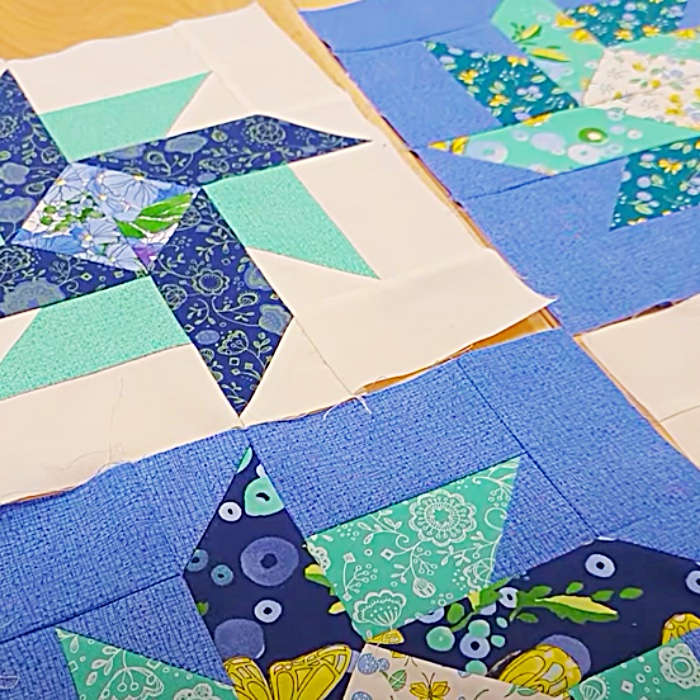 How To make A Strawberry Swirl Quilt - Easy Donna Jordan Quilt Design - Free And Easy Quilt Pattern
