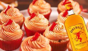 Fireball Cupcakes Recipe