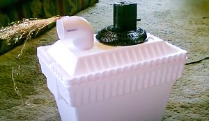 Turn An Ice Chest Into An Air Cooler