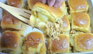 Crockpot Chicken Teriyaki Sliders Recipe