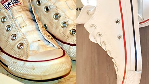 How To Clean White Tennis Shoes | DIY Joy Projects and Crafts Ideas
