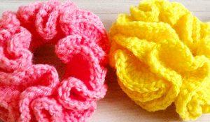 How To Crochet Hair Scrunchies